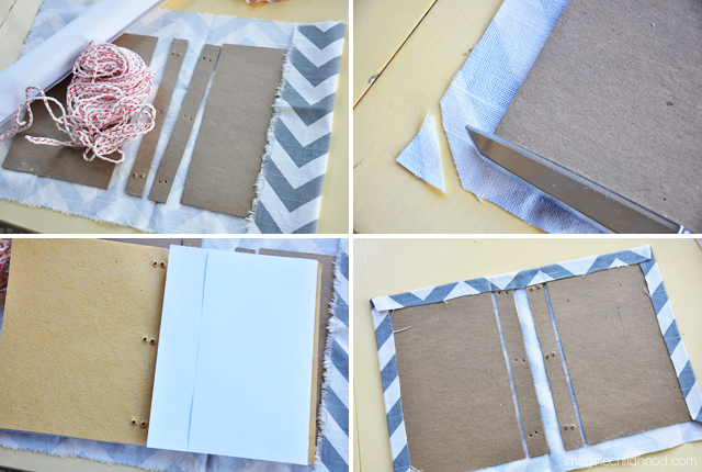 Handmade Book/Summer Adventure Log Tutorial via Imagine Childhood