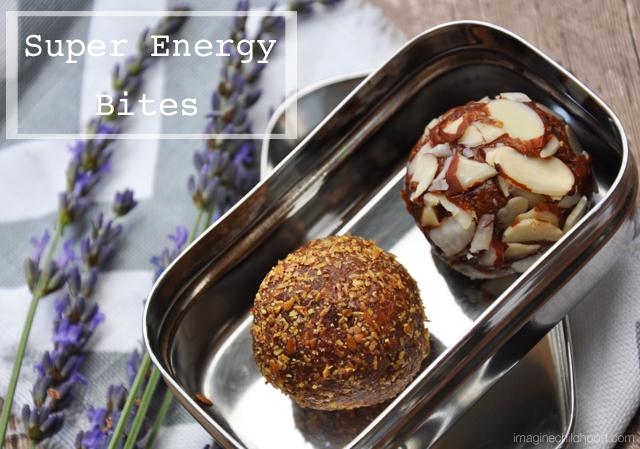 Gluten Free Super Energy Bites via Imagine Childhood