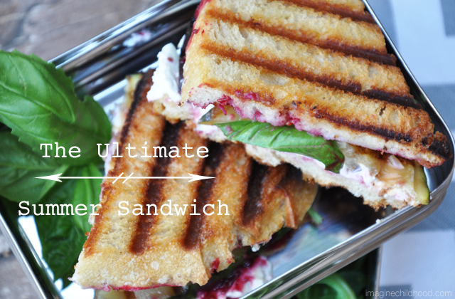 The Ultimate Summer Sandwich via Imagine Childhood