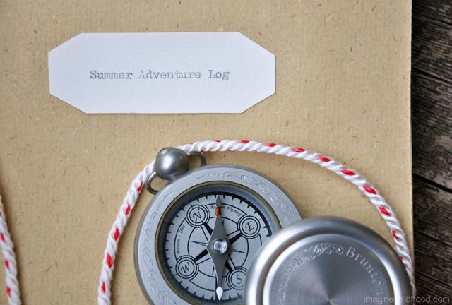 Handmade Book/Summer Adventure Log Tutorial via Imagine Childhood