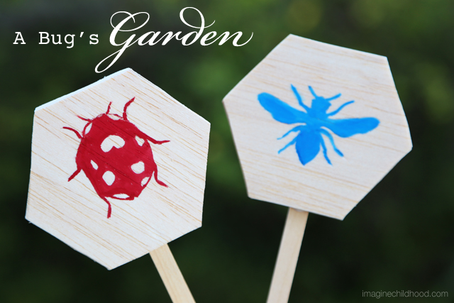 DIY Garden Markers via Imagine Childhood