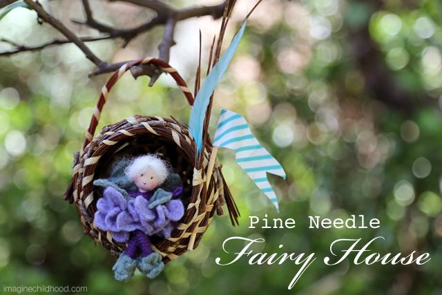 Fairy House Tutorial via Imagine Childhood