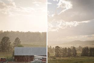 Sunshine.rain