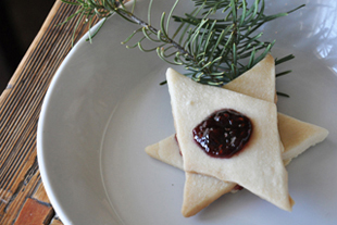 Shortbread Star Cookies
