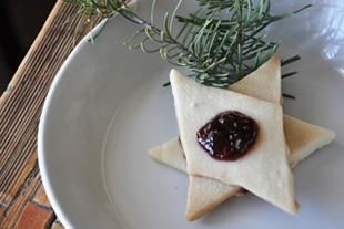 Shortbread Star Cookies