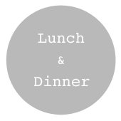 Lunch.dinner